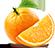 Pomarańcza - Znak marketingu internetowego w owocnych.