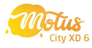 Logotyp Motus City to estetyczna reklama