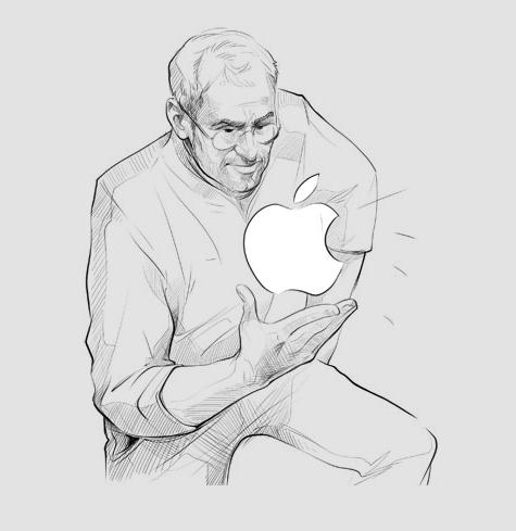 Steve Jobs analizujący przykładowe nazwy firm