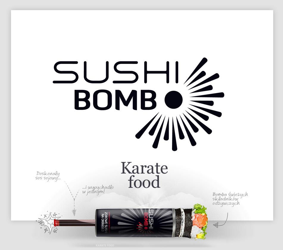 Sushi Bomba naming tworzenie