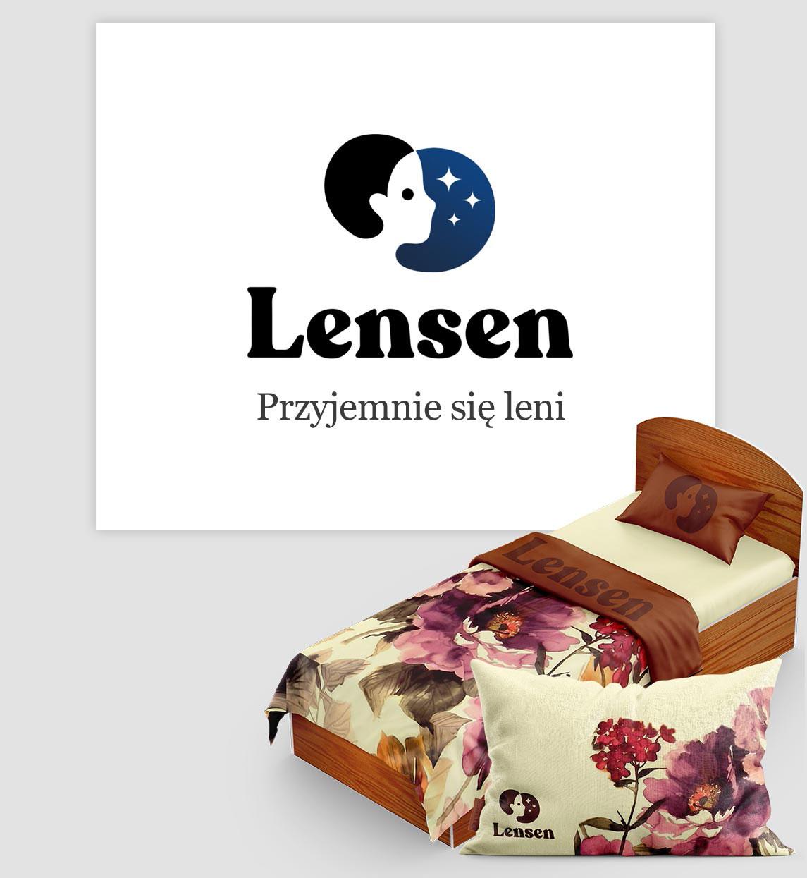 Projektowanie logo na przykładzie Lensen